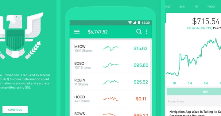 application de trading de cryptomonnaie robinhood
