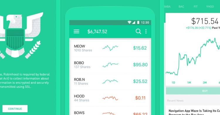 application de trading de cryptomonnaie robinhood