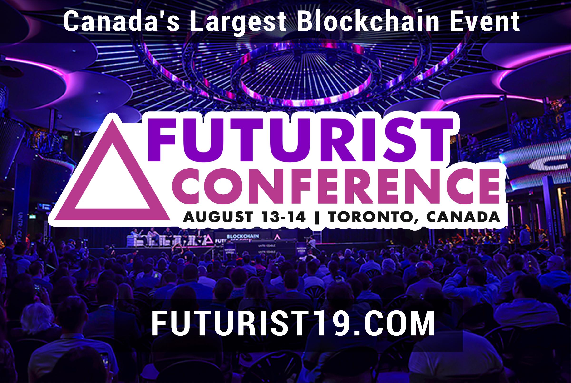 Futurist conference pour parler du Bitcoin